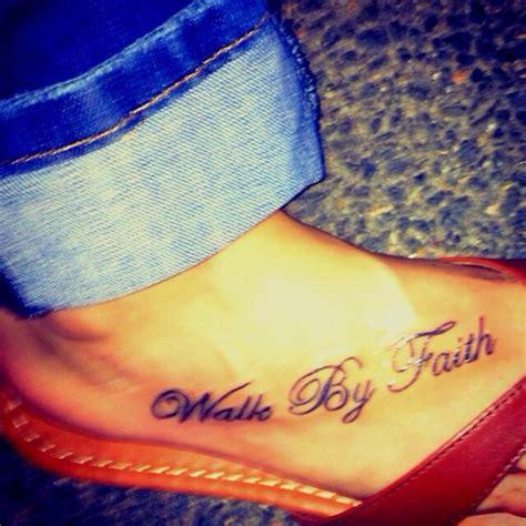 tattoo shops edmonton walk ins walk by faith foot tattoo inklings pinterest