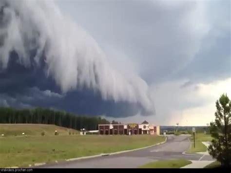 amazing  kinda scary cloud formation izismilecom