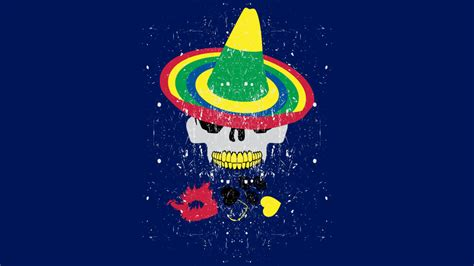 design by humans mexico skull in mexico style t shirt by famenxt design by humans