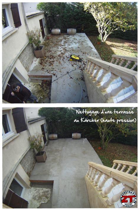 terrasse reinigen kärcher timelapse nettoyage d une terrasse au k 228 rcher