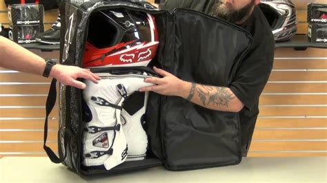 motocross gear bags fly racing tour wheeled gear bag review youtube