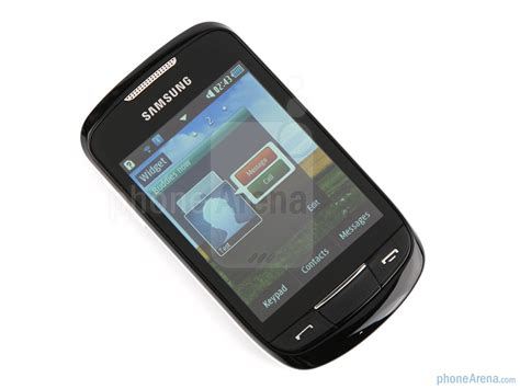 Lcd Samsung Galaxi Corby S3650 samsung corby ii review
