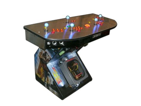 mame arcade console arcade pedestal gaming system 4 player hdtv hdmi mame tm