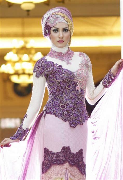 Promo Baju Kebaya Batik Muslim Asesoris Jilbab model baju kebaya pesta masa kini untuk remaja