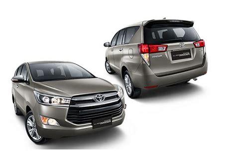 Www New Toyota Innova New Toyota Innova 2016 Vs Current Model Specs