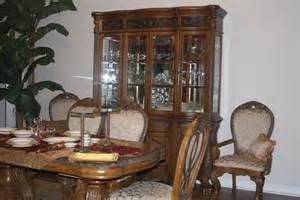 Aico amini paradisio furniture formal dining set table w 6 chairs