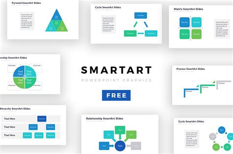 Powerpoint Smartart Templates Free Download Image Free Powerpoint Graphics Templates