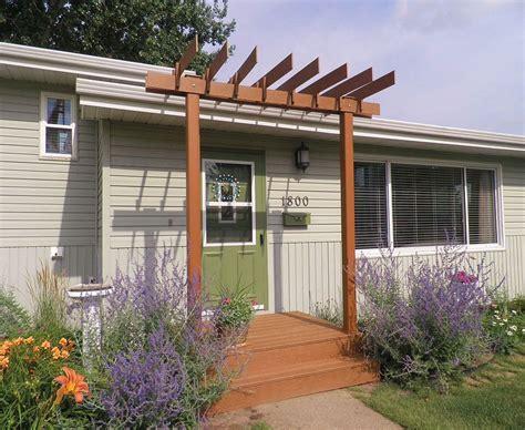 front porch curb appeal hometalk new pergola for a front porch curb appeal