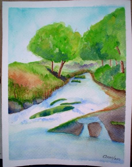 imagenes faciles para dibujar paisajes dibujos de paisajes a color faciles imagui