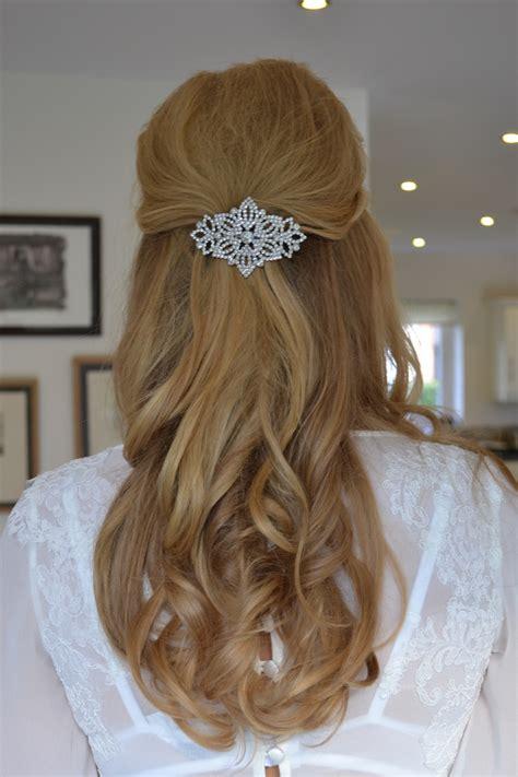 wedding hair up surrey wedding hair guildford wedding hair guildford half up hair
