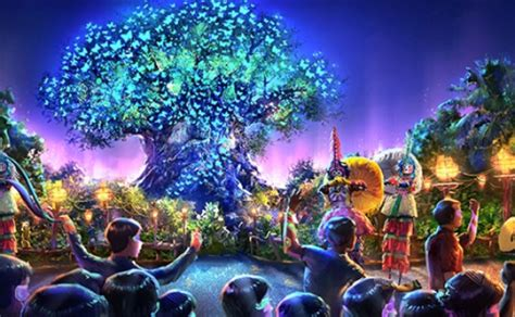 themes in animal kingdom film james cameron introduces avatar land coming to disney