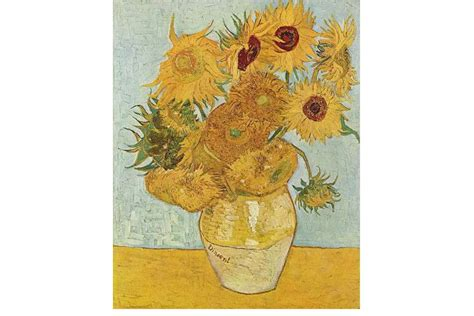 vincent gogh vase with twelve sunflowers 10 most flower paintings widewalls
