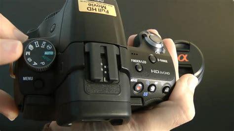 Kamera Sony Slt A55 sony alpha slt a55 vl digital slr unboxing product tour