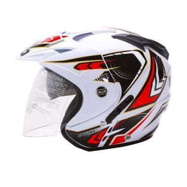 Helm Ink Half Putih Jual Wto Helmet Impressive Spectra Visor Helm Half