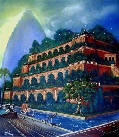 giardini pensili di babilonia foto all ultimo livello si accedeva per mezzo di una scala