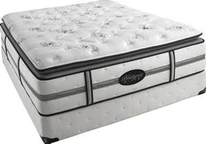 simmons beautyrest black plush pillow top