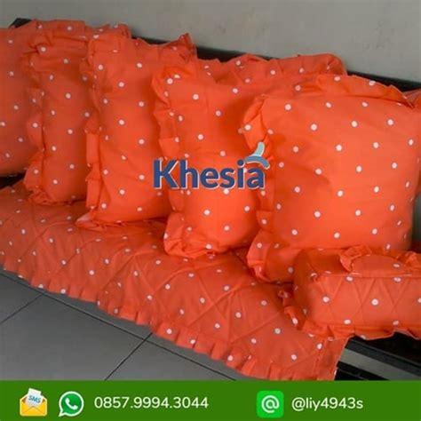 Bisa Gojek Bantal jual sarung bantal kursi tamu bisa pesan model sesuai selera