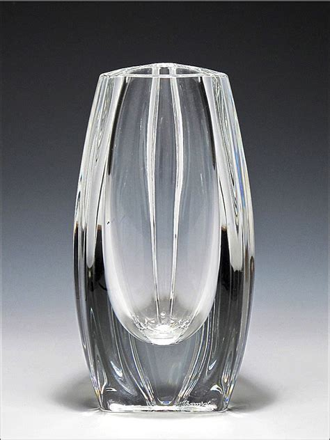 Baccarat Vase signed baccarat bouton d or vase from oh on ruby