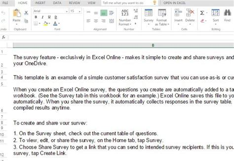 customer survey email template customer satisfaction survey template for excel