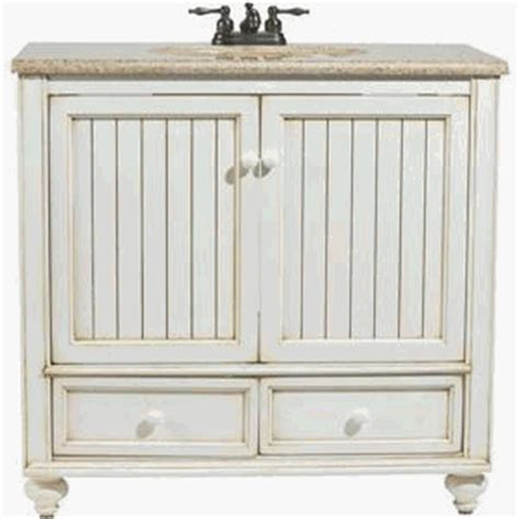 Beachy Bathroom Vanities Wood Bb3621d Bristol 36 Quot Wood Vanity Cabinet Only Burnished White Bathroom