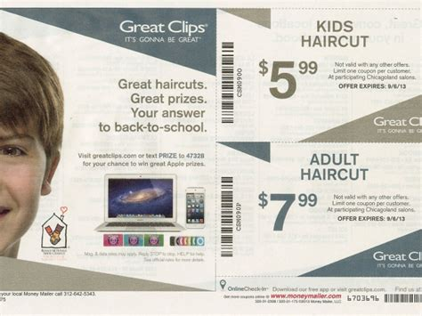 great clips kids haircut prices great clips back to school coupon oak lawn il patch