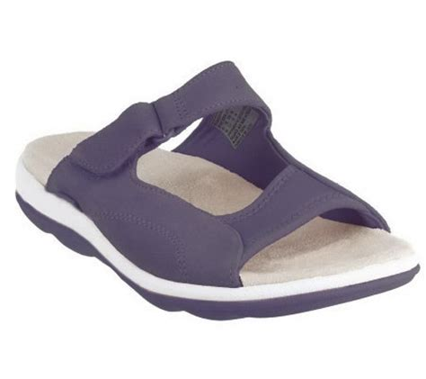 qvc ryka sandals ryka suede adjustable sport sandals qvc
