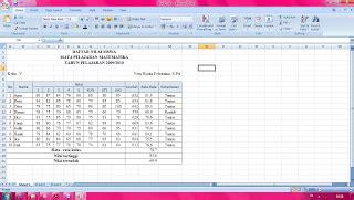 makalah format data pada excel 2007 makalah microsoft excel 2007 info komputer