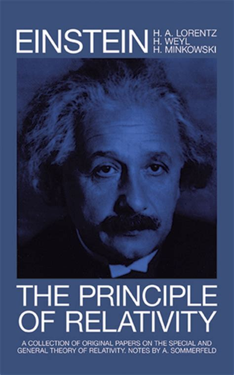 the einstein theory of relativity books the principle of relativity books on physics by albert