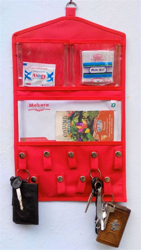 Tempat Remote Muat Banyak Remote Holder Organizer Og017 rak kunci dokumen simpan kunci dan nota penting dengan lebih rapi harga jual