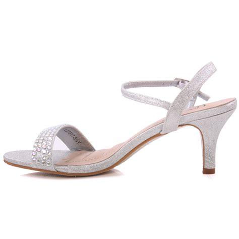 S Bridal Sandals by Unze Womens Adona Embellished Bridal Sandals Uk Size 3 8