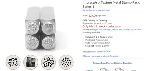impress art metal stamping   alcohol ink washer pendents
