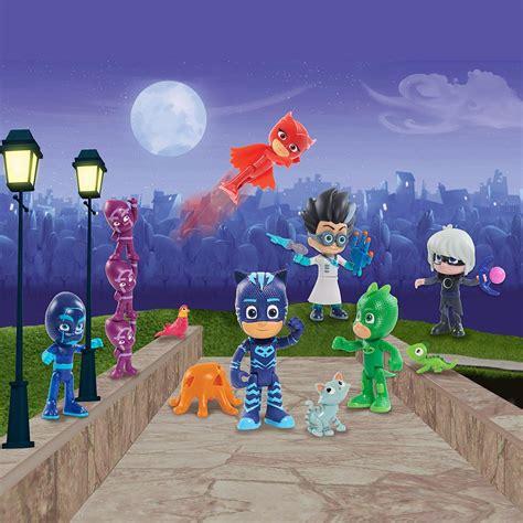 Spesial Mainan Edukasi Figur Pj Masks just play pj masks deluxe figure set figure includes ninjalinos toys