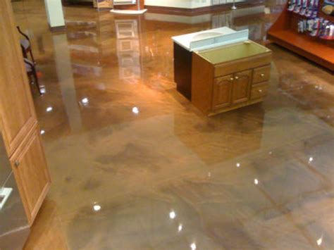 epoxy flooring kitchen metallic epoxy kitchen floor