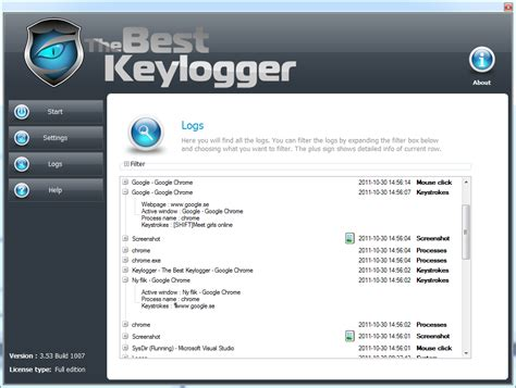 free download keylogger full version blogspot the best keylogger 3 54 build 1001 download full version