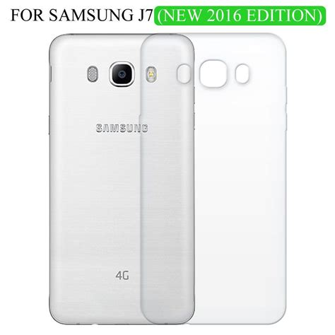 Samsung Galaxy J7 Bepak Clear Transparant Back Cover samsung galaxy j7 2016 cover by zapcase transparent plain back covers at low prices