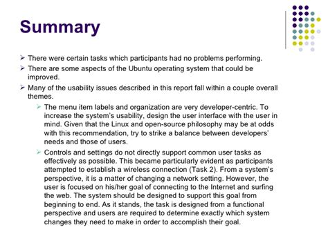 usability report template best usability report template pictures inspiration