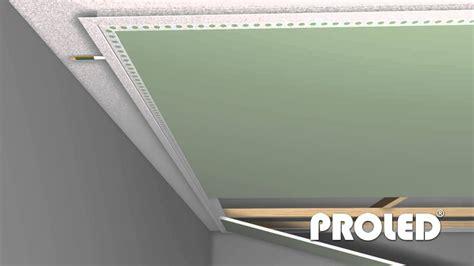 profili per controsoffitti come montare un profilo per strisce led a cartongesso