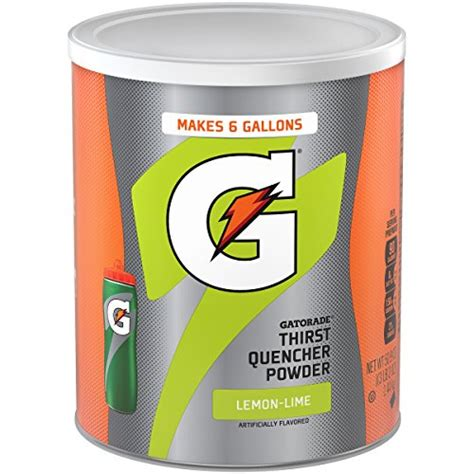 galleon gatorade powdered drink mix lemon lime 50 9 oz