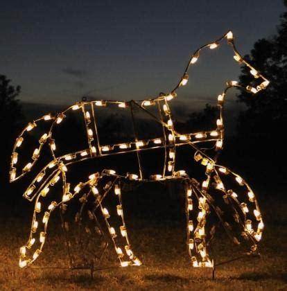 horse christmas lights christmas decor and light