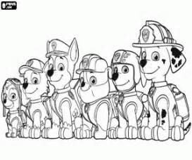PAW Patrol Coloring Pages Printable Games 2 sketch template