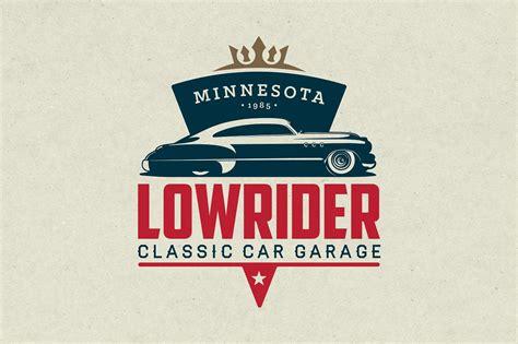 classic car garage logo logo templates creative market
