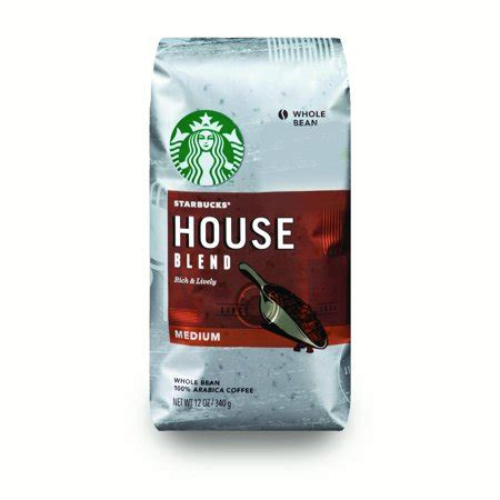 Blend Coffee Bean starbucks house blend medium roast coffee whole bean 12
