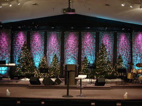 design backdrop christmas kris krinkle church stage design ideas