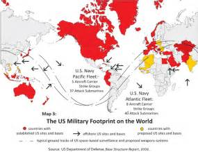 army bases map map of u s bases around the world