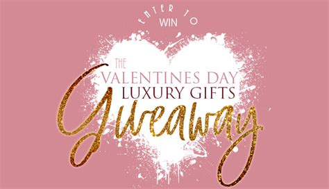 Valentine S Day Giveaway - the treat yourself or someone special skincare valentines day giveaway