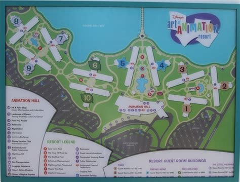 layout of art of animation resort 17 best images about disney world trip on pinterest