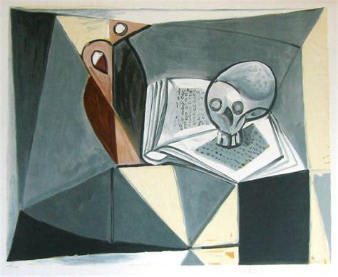 libro pablo picasso taschen basic pablo picasso litografia del 1979 teschio e libro