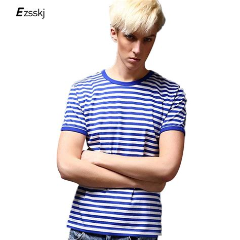 Claires Stiped T Shirt 2017 sea striped t shirts summer fashion s sleeve stripe cotton t shirts casual