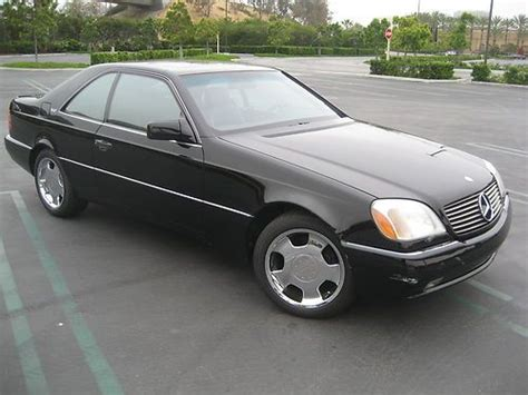 automobile air conditioning repair 1993 mercedes benz 600sec user handbook sell used 93 600sec coupe v12 fully loaded low miles ca car 4 place seating lorinser in
