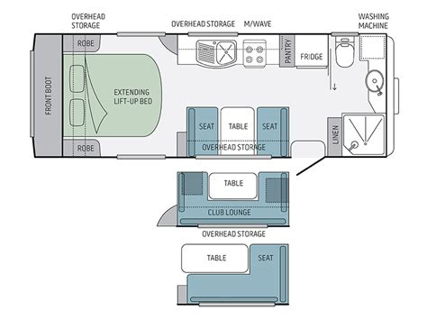 caravan floor plans jayco silverline caravan